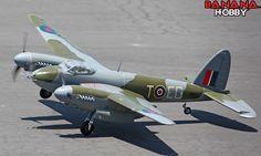 Giant de Havilland Mosquito RC Warbird Airplane - Radio Controlled Giant de Havilland Mosquito Military Plane - RC