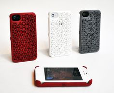 Maille Cases for iPhone 4S.    as if i had an iPhone at all.