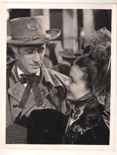 F9173 Leslie Howard Vivien Leigh Gone with The Wind US Original B w Photo 8x10 | eBay
