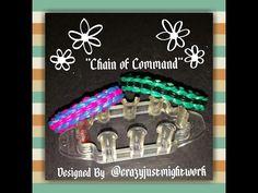 Crazy Loom Bracelets, Rainbow Loom Bracelets Easy, Loom Band Bracelets, Rainbow Loom Tutorials, Rainbow Loom Patterns, Rubber Band Bracelet, Loom Bands, Rubber Band Crafts, Rubber Bands