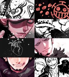 Trafalga Low One piece Law One Piece, One Piece Manga, Trafalgar D Water Law, Otaku, One Piece Tattoos, One Piece Pictures, The Pirate King, Awesome Anime, Anime Manga