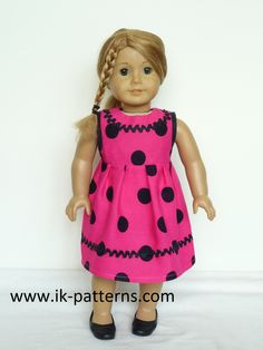 Doll clothes sewing patterns www.ik-patterns.com