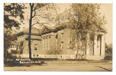The First Methodist Church of Batesville, Arkansas. Mailed in 1923