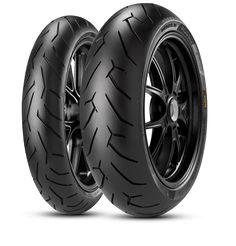 Set of 4 Pirelli Diablo Rosso II Tires Radial Blackwall 2291900 Ducati 1000, Ducati 916, Ducati Diavel, Pirelli Tires, Motorcycle Tires, Ducati Monster, Supersport, Tired, Car
