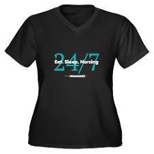 Nursing Career Plus Size T-Shirt