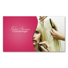 106 Best Cosmetologist Business Cards Images Business Card Design