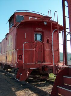 Train Caboose. My favorite car. Broke my heart when they stopped using them.