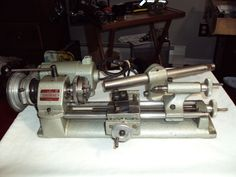 UNiMAT DB 200 American Edelstaal INC  Watchmaker Lathe & Drill Conversion Kit #UNiMat