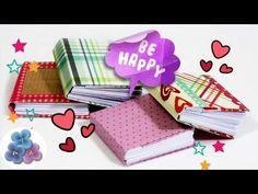 Haz tus propios cuadernos en miniatura, paso a paso