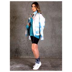 Exclusive my izzi pastel tie dye jacket Tie Dye Jackets, Pastel Tie Dye, Rain Jacket, Windbreaker, Raincoat, Campaign, Fashion, Moda, Fashion Styles