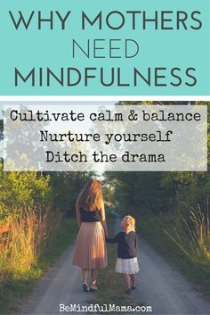Ready to parent with greater calm, balance, and ease? Ready to ditch the drama and the yelling? Check out this free video series, Why Mothers Need #Mindfulness!