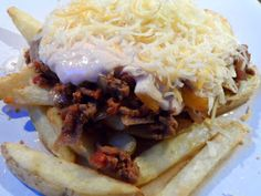 crafts and spices: Fakeaway Friday: Taco Fries