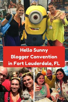 Fort Lauderdale hosted hundreds of us travel bloggers for the TBEX annual conference. I got to meet so many great bloggers that I love and follow plus have Lauderdale's awesome eats and drinks. Do you recognize any of these bloggers? #hellosunny