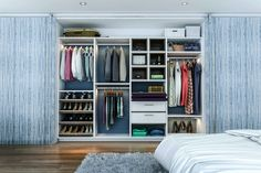 Sliding Door Walk In Closet 67 Reach In and Walk In Bedroom Closet Storage Systems Ikea Closet Design, Custom Closet Design, Bedroom Closet Storage, Walk In Closet Design, Custom Closets, Closet Designs, Ikea Bedroom, Bedroom Wardrobe, Closet Storage Systems