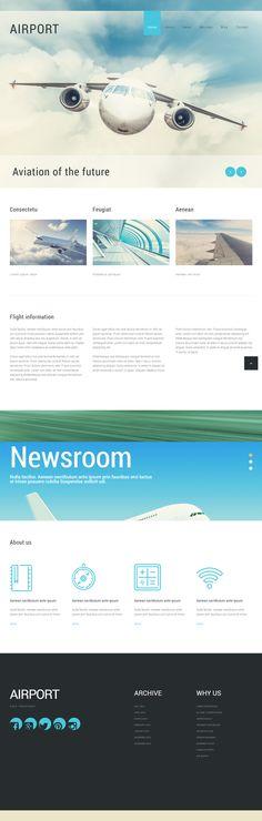 Airport Joomla Template