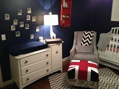 Baby Hudson's Room - contemporary - kids - phoenix - Carroll Consulting