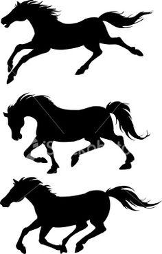 An a vector illustration of horses. Iphone 5c Wallpaper, Horse Silhouette, Free Vector Art, Equestrian, Stencil, Art Work, Moose Art, Royalty, Horses
