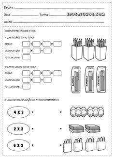 Adição e multiplicação