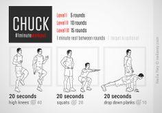 Chuck Workout by Neila Rey