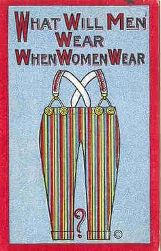 Anti-suffragette Postcards As the women's suffrage movement gained momentum in the early century, the picture postcard industry was utilised to denigrate women fighting for the.