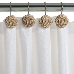Cute Shower Curtain Hooks For That Coastal Look From Target 999