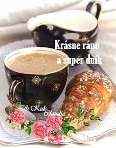 Good Morning, Tea Cups, Tableware, Night, Blog, Pictures, Buen Dia, Dinnerware, Bonjour