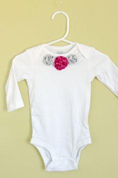 onesie for girl, embellished onesie    creatively christy