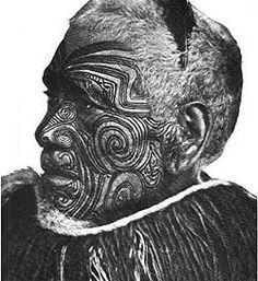 Maori Moko | Las Modificaciones Corporales y su significado: abril 2008
