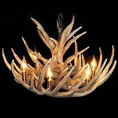 Luxurious hanging lights, ceiling light fixtures of different crystal design, find your favorite artistic antler featured chandelier with 6 lights from goodsoft and enjoy the new look of your house with kitchen pendant lighting. Chandeliers, Antler Chandelier, Antique Chandelier, Chandelier Lighting, Antler Lights, Wooden Chandelier, House Lighting, Farmhouse Chandelier, Rouen