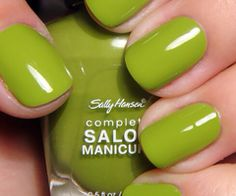 Love this 'Kermit green' color