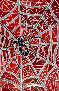 """""""Animal Paper Mosaic"""" ~ by ~ Roscoe Middle School Paper Mosaic, Mosaic Crafts, Mosaic Projects, Mosaic Wall, Mosaic Glass, Mosaic Tiles, Art Projects, Tiling, Spider Art"""