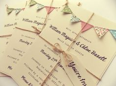 Deposit for Ellie Rustic Wedding Invitation. by FromLeoniWithLove