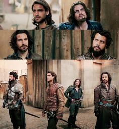 """Here you will find posts around the show """"The Musketeers"""" Not spoiler free. ~~~~~~~~~~~ Other graphics from me can you found here Admin: larmay The Musketeers Tv Series, Bbc Musketeers, The Three Musketeers, Howard Charles, Luke Pasqualino, Tom Burke, Brothers In Arms, Series Movies, Series 3"""