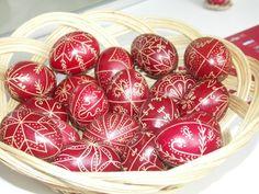 Traditional paited eggs - Ţara Bârsei, Brasov