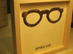 Famous Glasses: SPIKE LEE
