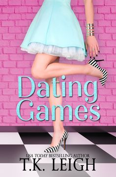 "The cover for dating games is here!!! Check it out and be sure to pre-order today!  ""Sometimes I wish my life had background music so I can understand what the hell is going on."""