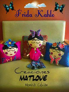 Fridas,cojines decorativos. de Matlove.