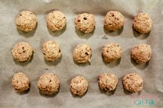 Protein and Flax Seed Energy Balls Recipe