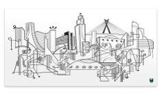 SP Skyline  SONSINO | Ilustração, Design & Artes