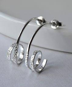 This Martha Jackson Sterling Silver Urban Twirl Drop Earrings by Martha Jackson is perfect! #zulilyfinds