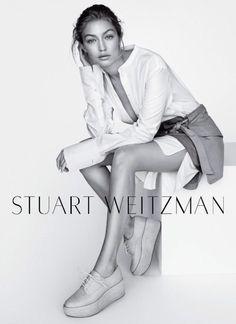 Gigi Hadid // Stuart Weitzman