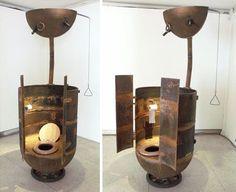 Old Sea Mines Repurposed Into Furniture8 | Decoration | Pinterest |  Repurposed