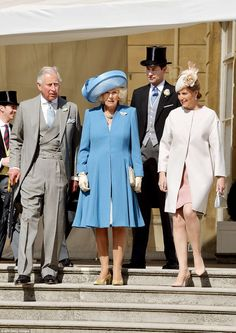 Buckingham Palace's first garden party of the season 5/12/2015