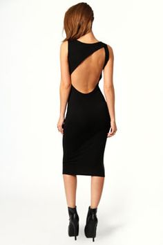 Cheap Charlie Cut-out Back Detail Mid Dress Black online - All Products,Sexy Lingerie,Gown & Long Dress Sexy Gown, Sexy Dresses, Evening Dresses, Midi Dresses, Lace Dresses, Going Out Outfits, Going Out Dresses, Lingerie Gown, Sexy Lingerie