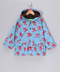 Blue Elmo Raincoat - Toddler & Kids
