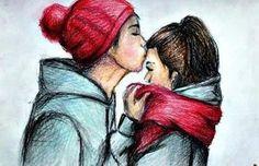 Certas coisas não devemos esconder, um lindo beijo ou até mesmo um olhar para outro ser, seria igual tentar impedir a chuva de deixar chover.