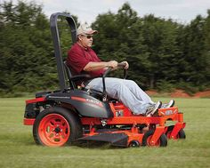 New Kubota Kommander zero turn lawn mower