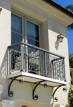 Get a Catchy Balcony Using These 60 Best Railings Designs ... 2-balcony-juliette-wrought-iron-porch-steel-balcony └▶ └▶ http://www.pouted.com/?p=24155