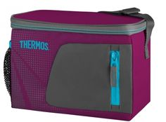 Howards Storage World | Thermos Radiance 6 Can Soft Cooler - Pink. Whether you're transporting drinks to a sporting match, picnic or down to the beach for the day, The Thermos Radiance 6 Can Cooler in Pink is the vessel to get your beverages there!