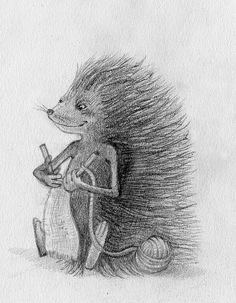 Hedgehog Knitting